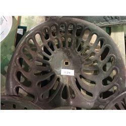 #79 - McCormick 1800's plow seat