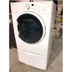 Kenmore upright dryer