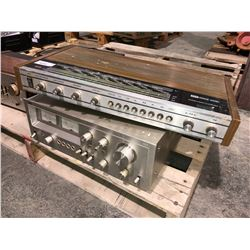 Schaub Lorenz Amp and stereo equipment, signs
