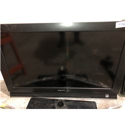 "32"" Sony Bravia flat screen TV comes with stand"