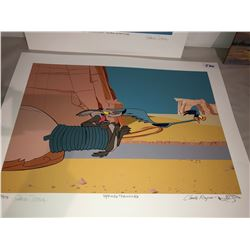 "Chuck Jones, Claude Raines Print ""Spring Training"", Limited Edition, 168/275"