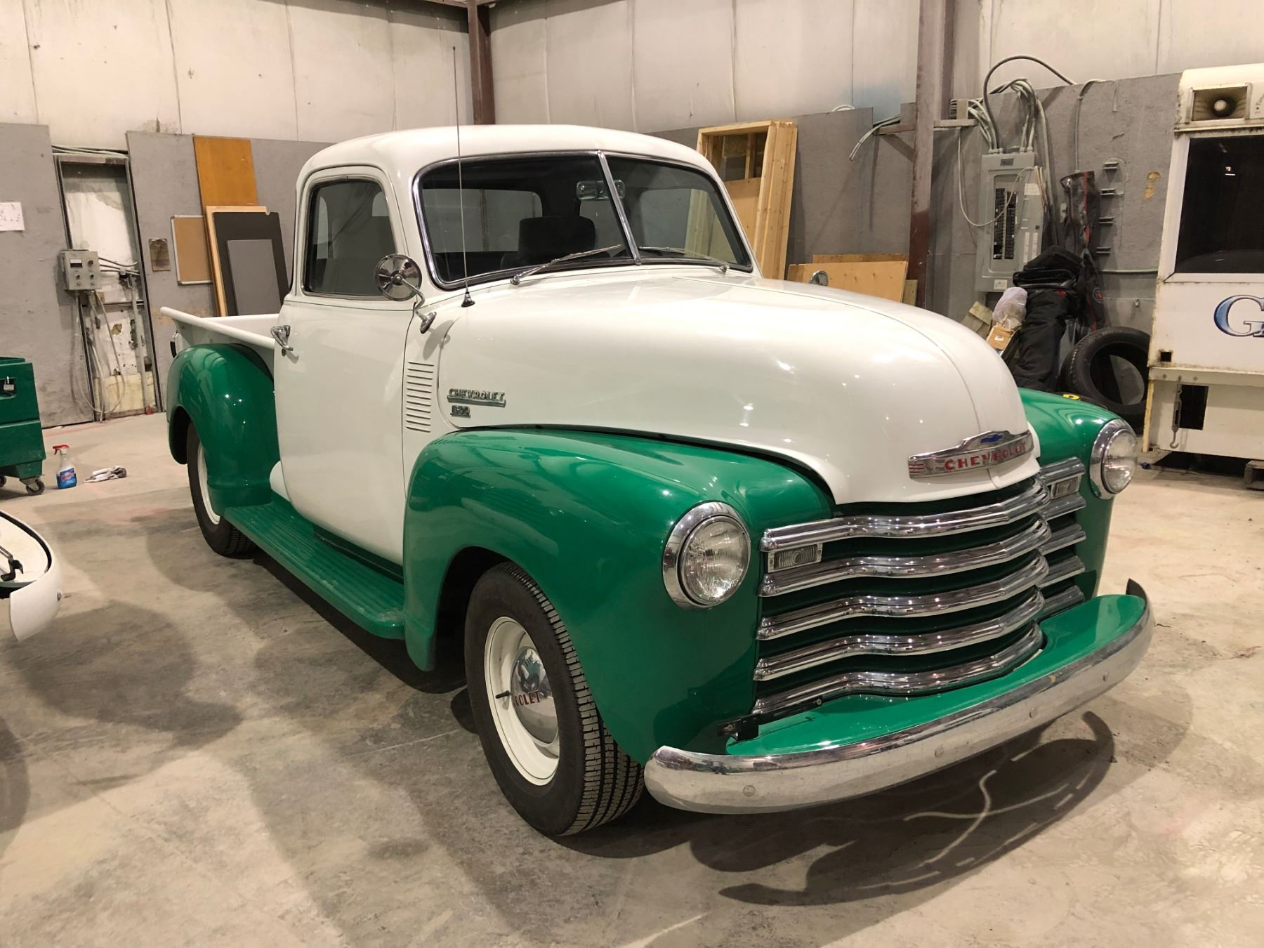 1952 Chevrolet 1300 Half ton truck, fully customized, frame off