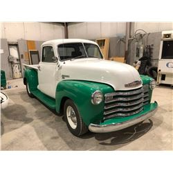 1952 Chevrolet 1300 Half ton truck, fully customized, frame off restoration, 5 window cab, lots of c
