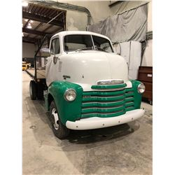 1953 Chevrolet 1800 Snub Nose one ton truck, fully customized, frame off restoration, Frame is from