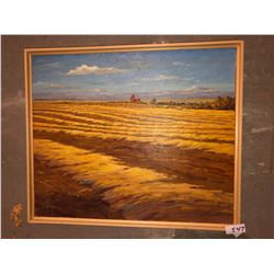"George Buytendorp ""Northern Autumn"" oil on canvas 16""x20"""