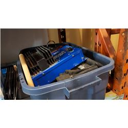 TOTE TOOL POUCHES AND 32-12V POWER CONVERTER