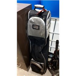 MONTERAY GOLF BAG WITH CLUBS AND TRAVEL BAG