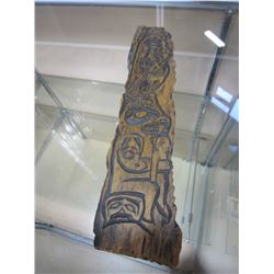 CARVED FIRST NATIONS ART