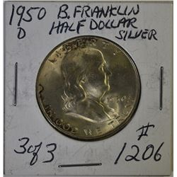 FRANKLIN HALF DOLLAR LOT
