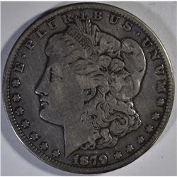 1879-CC MORGAN DOLLAR, FINE