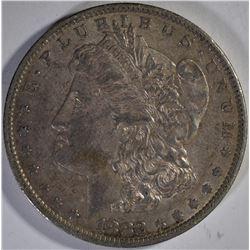1879-S  AU, 1882-O XF & 1882-S VF MORGAN DOLLARS