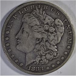 1883 VF, 1883-S FINE & 1883-O BU MORGAN DOLLARS