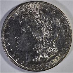 1886-S MORGAN DOLLAR, AU/BU KEY DATE