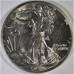 2-1943, 1-44 & 1-45 WALKING LIBERTY HALF DOLLARS G