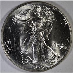 1946 WALKING LIBERTY HALF DOLLAR, GEM BU