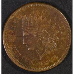 "1864 ""L"" INDIAN CENT, CH BU"