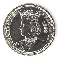 1893 ISABELLA QUARTER, AU+
