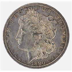 1880-CC MORGAN DOLLAR, CH BU