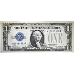 1928 $1 SILVER CERTIFICATE FR1600 FUNNY BACK