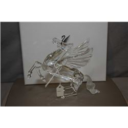 """Swarovski Crystal figure from the Fabulous Creatures collection, annual edition 1998 """"The Pegasus wi"""