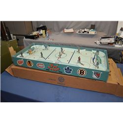 """Vintage original six """"Pro-Hockey"""" table top game made by Eagle Toys Ltd. game is in near mint condit"""