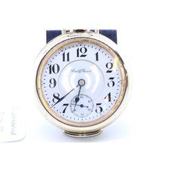 South Bend size 18 pocket watch, 17 jewel grade 313, model 2, serial# 571527, circa 1909, engraved w