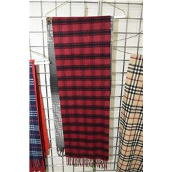 Two scarves including 100% wool Fendi and a Pringle Scotland 100% cashmere