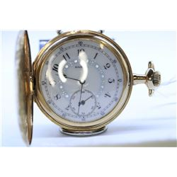 Elgin size 12, 17 jewel pocket watch. Grade 383, model 2, serial #16002745, circa 1912. 3/4 nickel p