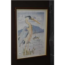 "Framed limited edition print "" Ready for Flight"" 3/5 signed by artist K.S. Doyle"