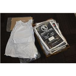 Large selection of approximately 15 Silent Partner body armour tee shirts, assorted sizes