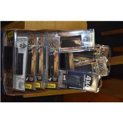 Eleven new in package Mossberg rifle magazines including ten for Mossberg 4 X 4 bolt action, long ac