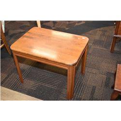 Semi contemporary occasional table