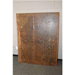 """Antique quarter cut oak 48"""" X 60"""" table top only"""