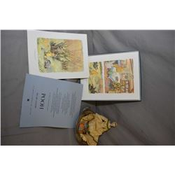 """Selection of collectibles including """"Pooh- His Art Gallery"""" featuring the coloured illustrations of"""