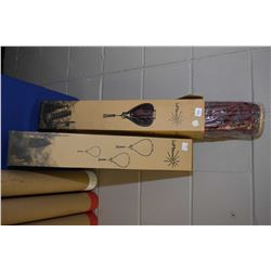 "Two new in box ""Lumalanterns"" from Bright Ideas, Oriental style lanterns"