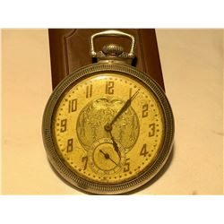 ABRP POCKET WATCH, GOLD LOOK FINISH