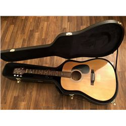 TAKAMINE, JASMINE MODEL, ACOUSTIC GUITAR WITH CASE