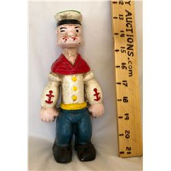 ANTIQUE POPEYE CAST BANK