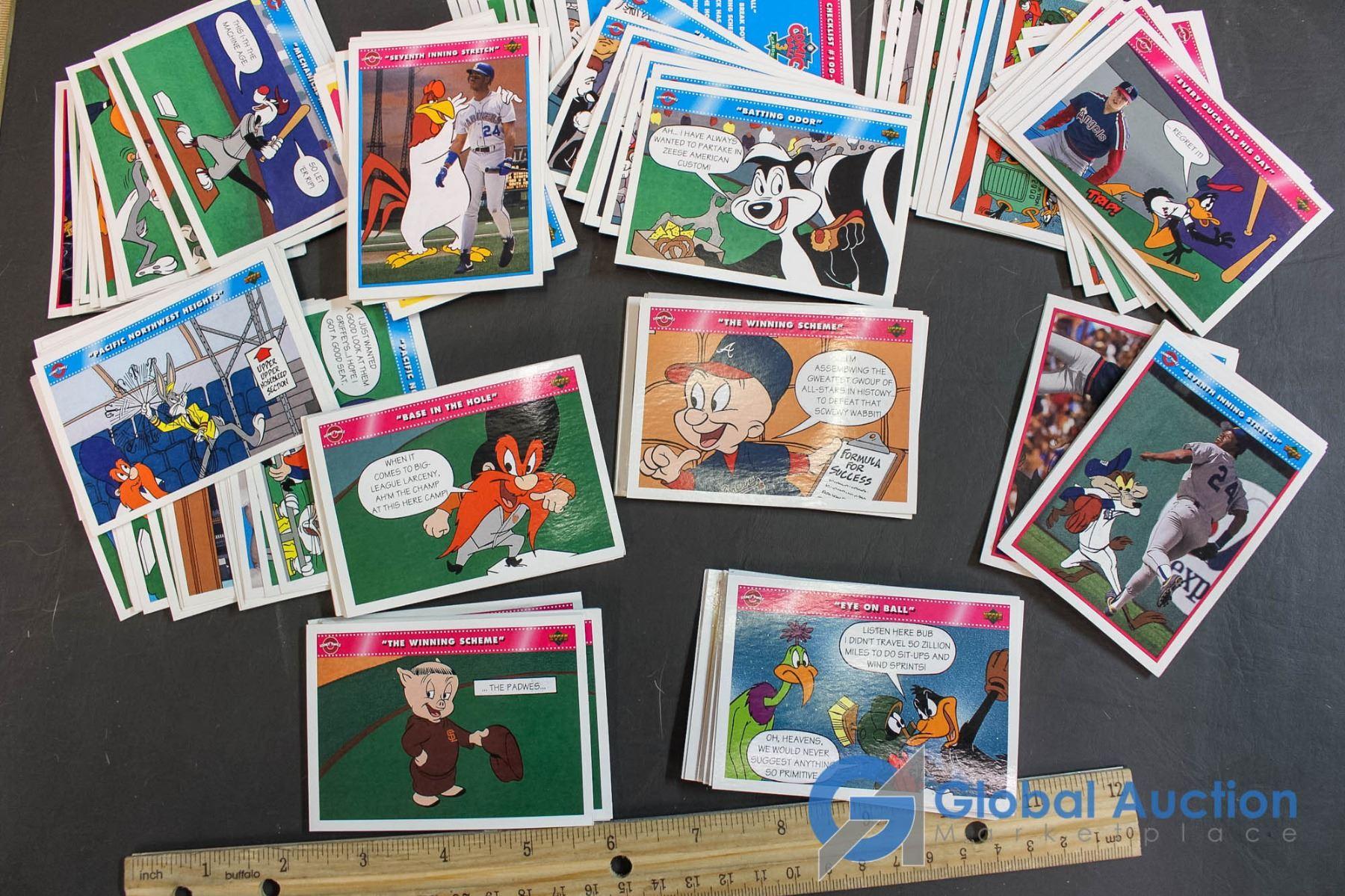 Looney Tunes Themed Upperdeck Baseball Cards