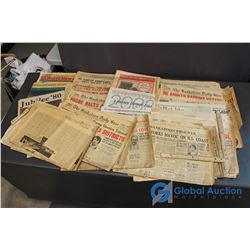 Assorted Newspapers