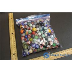 Assorted Marbles - Mostly White