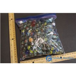 Assorted Marbles - Mostly Translusent