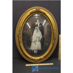 Vintage Oval Picture