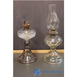 (2) Kerosene Lamps