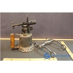 Brass Blowtorch & Nickel Horse Bit