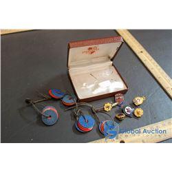Legion, General Service, Lions, Auxillary Lapel Pins