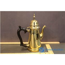 Vintage Brass Tea Server