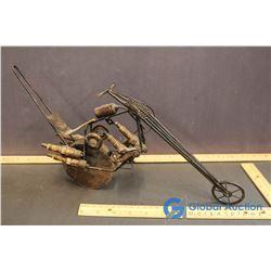 Steam Punk Chopper Motor Cycle