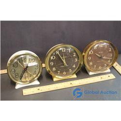 (3) Westclock Alarm Clocks - Big Ben