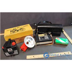 Mark XII Flash Camera in Original Box & Keystone Camera in Case